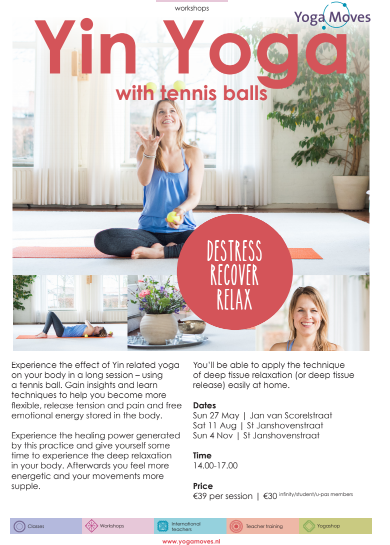 Yoga Moves Yin Yoga Special with Tennisballs